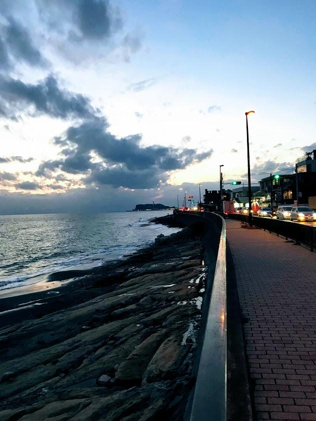 極道BL小説の舞台:江ノ島