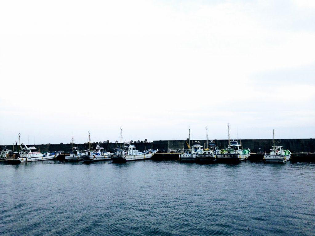 極道BL小説の舞台:腰越漁港