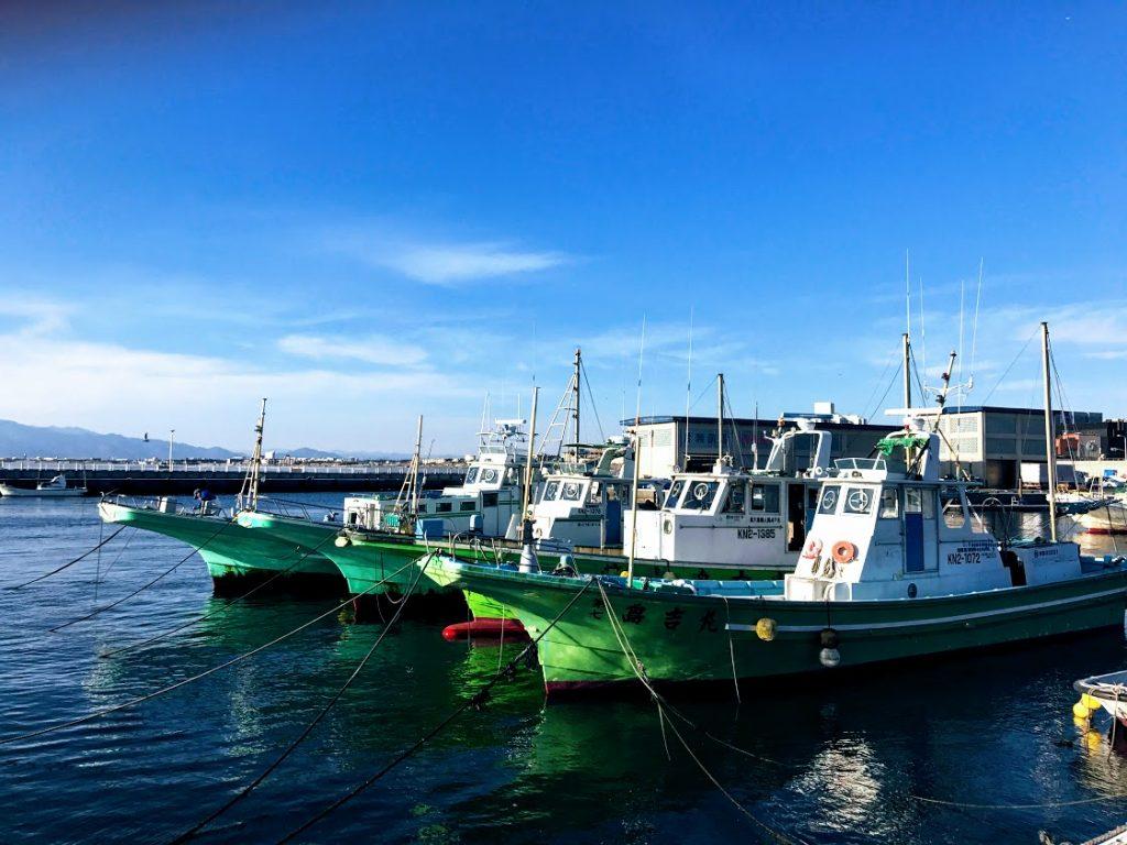 極道BL小説の舞台:漁船