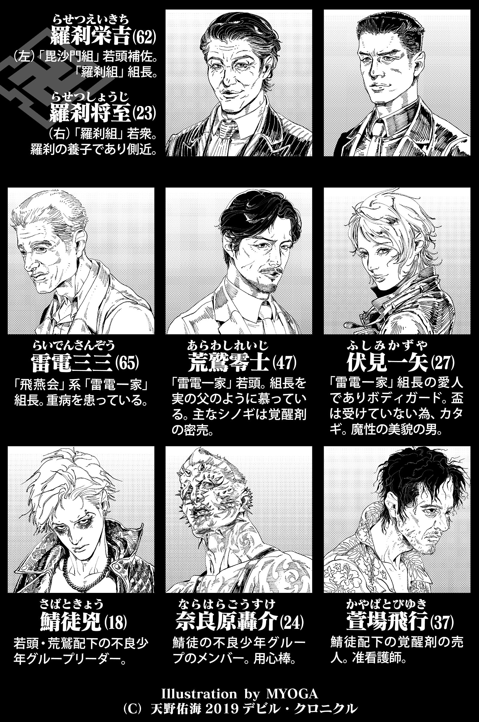 極道BL小説:登場人物②